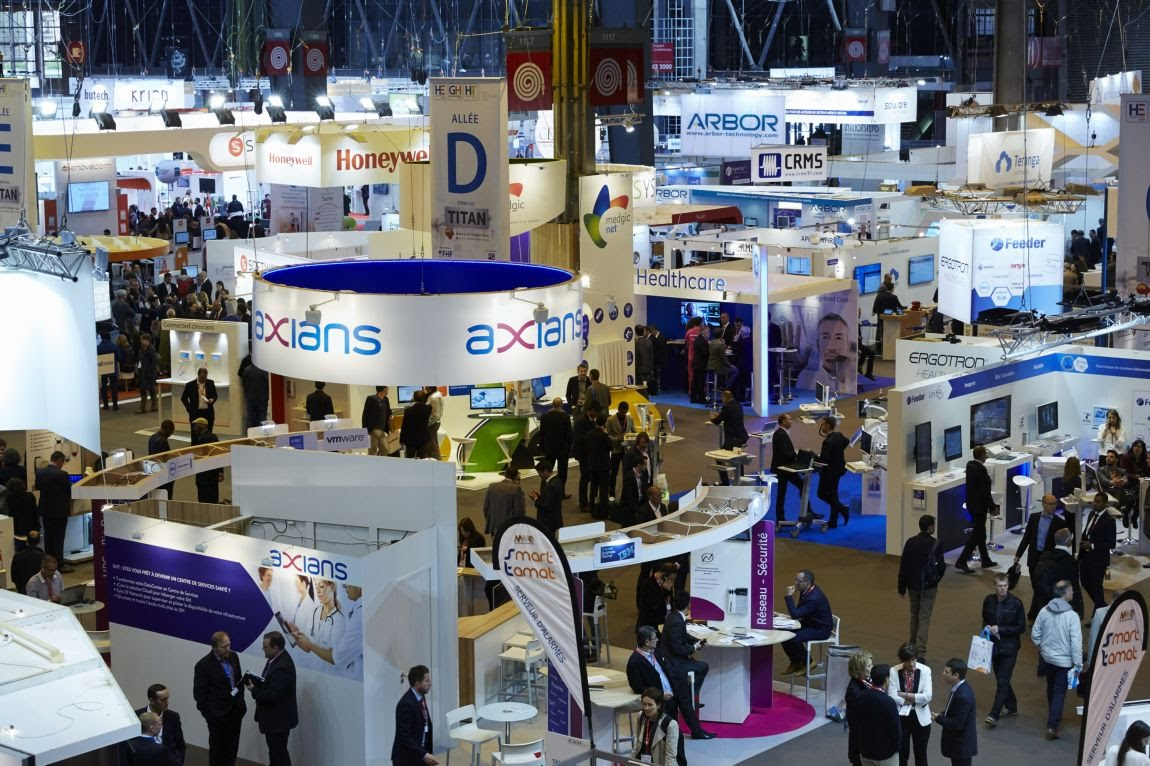 Paris healthcare week les salons professionnels des for Porte de versailles salon adresse