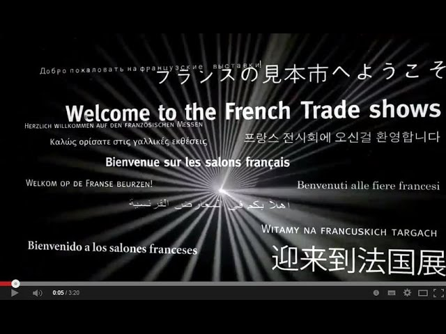 Welcome to the French Trade shows : Where innovation inspires business!